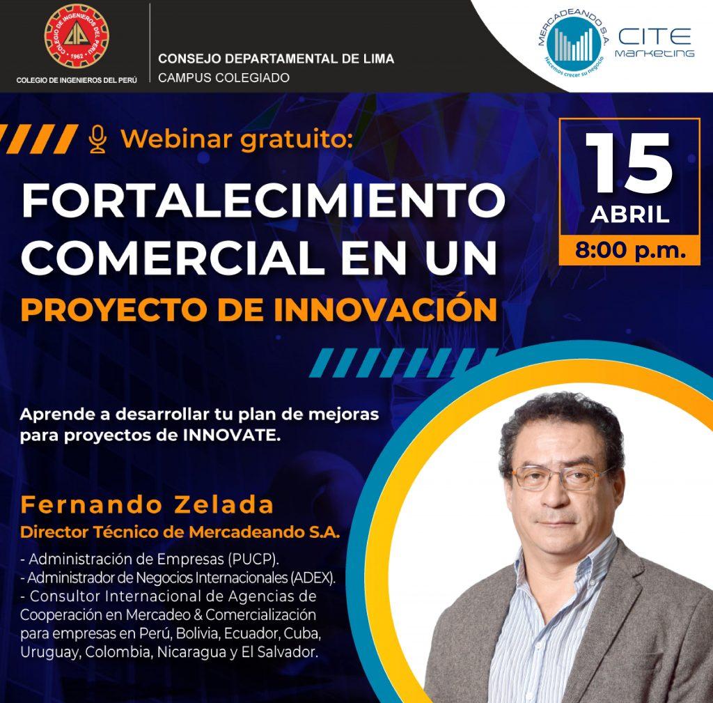 Fortalecimiento comercial en un proyecto de innovación