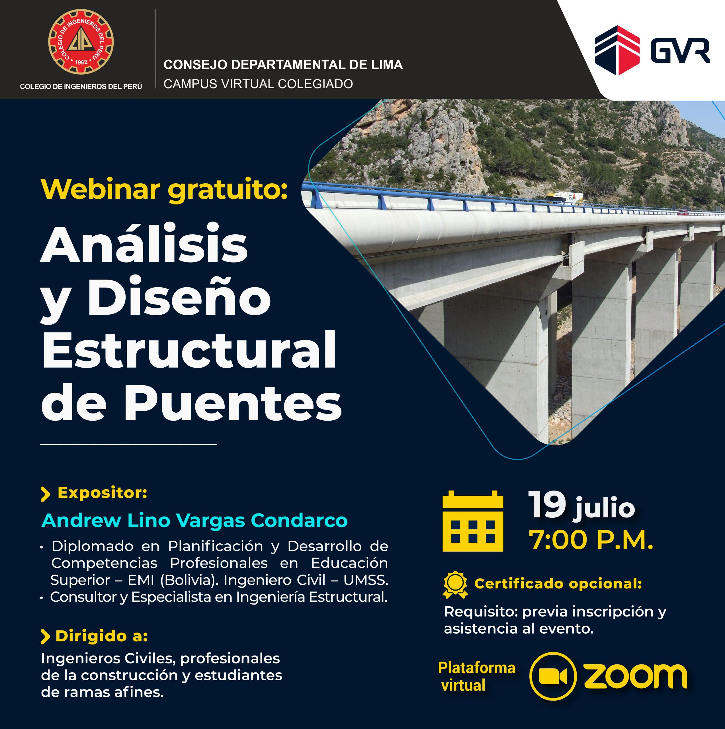 Análisis y Diseño Estructural de Puentes